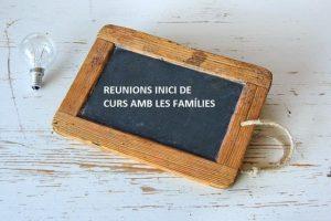 Informació reunions de famílies amb tutors i tutores (FPB)