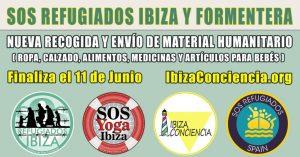 Campanya de recollida de material humanitari de SOS refugiats Eivissa i Formentera per a Atenes